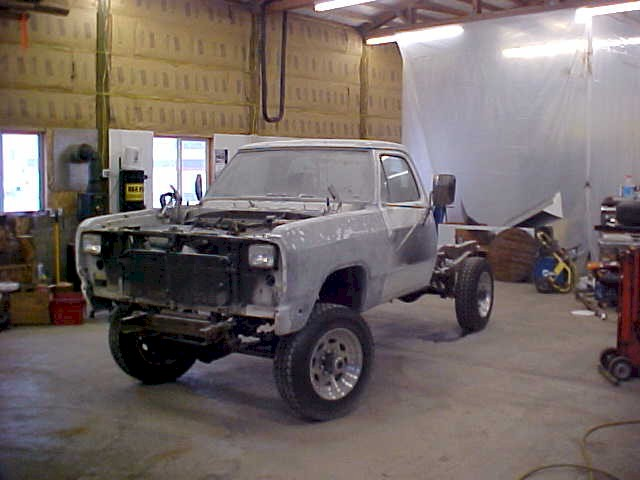 1992 Dodge Truck Custom Restoration