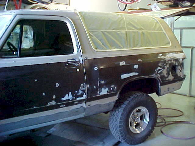 Dodge Ram Charger 4 Wheel Drive Custom Restoration